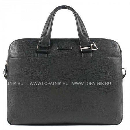 Купить Сумка для ноутбука PIQUADRO CA3339MO/N, Черный, Натуральная кожа