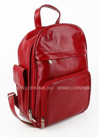 Купить Рюкзак кожаный женский TONY PEROTTI 331351/4, Красный, Натуральная кожа