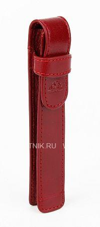 Купить Кожаный чехол для ручек TONY PEROTTI 333220/4, Красный, Черный, Натуральная кожа