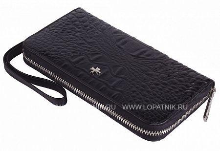 Кожаный мужской кошелек VASHERON 9591-N.BAMBINO BLACK