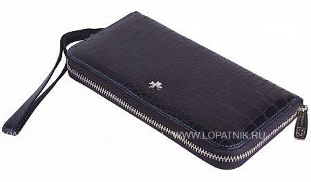 Кожаный мужской кошелек VASHERON 9591-N.ALIGRO INDIGO