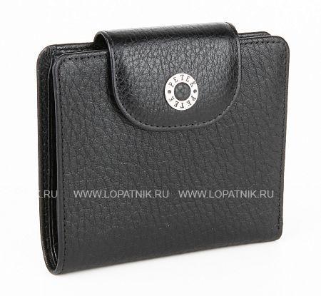 Купить Женское кожаное портмоне PETEK 346.46B.01, Черный, Натуральная кожа