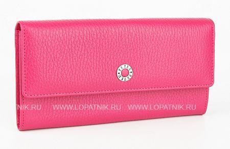 Купить Женский кожаный кошелек PETEK 440.46D.44, Розовый, Натуральная кожа