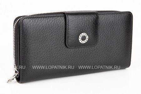 Купить Женский кожаный кошелек PETEK 460.46B.01, Черный, Натуральная кожа