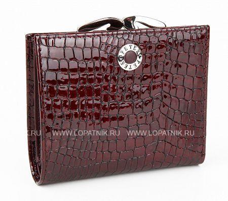 Купить Женское кожаное портмоне PETEK 2336.091.03, Бордовый, Натуральная кожа