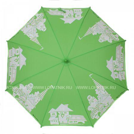 Купить Зонт складной детский FLIORAJ 051206 FJ, Белый, Зеленый, Полиэстер (тканевый)