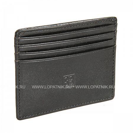 Купить Мужская кожаная кредитница SERGIO BELOTTI 2236 MILANO BLACK, Черный, Натуральная кожа