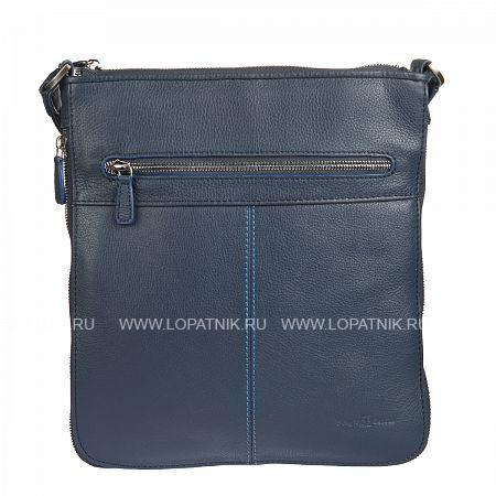 Купить Мужская кожаная сумка-планшет SERGIO BELOTTI 9813 INDIGO JEANS, Синий, Натуральная кожа