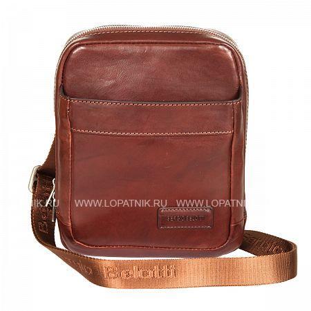 Купить Мужская кожаная сумка на плечевом ремне SERGIO BELOTTI 9984-17 VEGETALE BROWN, Коричневый, Натуральная кожа