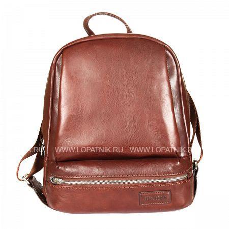 Купить со скидкой Кожаный мужской рюкзак SERGIO BELOTTI 9204 VEGETALE BROWN