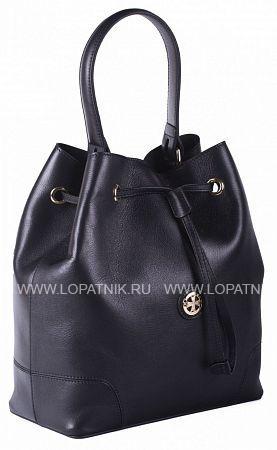 Купить Женская кожаная сумка-мешок VASHERON 9950-N.BLACK, Черный, Натуральная кожа