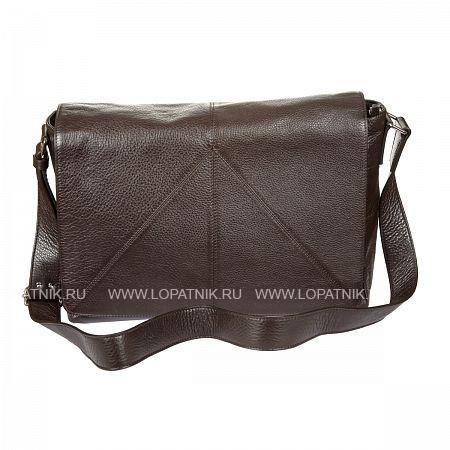Купить Мужская сумка на плечевом ремне GIANNI CONTI 1542713 DARK BROWN, Черный, Натуральная кожа