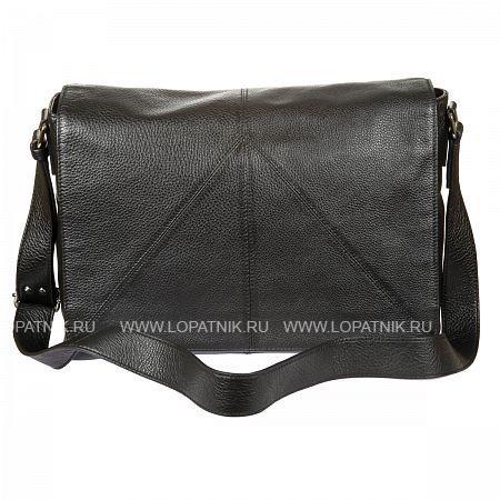 Купить Мужская сумка на плечевом ремне GIANNI CONTI 1542713 BLACK, Черный, Натуральная кожа