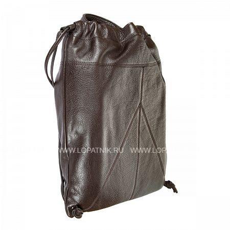 Купить Кожаный мужской рюкзак GIANNI CONTI 1542712 DARK BROWN, Коричневый, Натуральная кожа