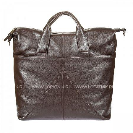 Купить Сумка кожаная мужская GIANNI CONTI 1542716 DARK BROWN, Коричневый, Натуральная кожа