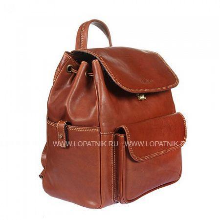 Купить со скидкой Рюкзак кожаный женский GIANNI CONTI 913159 TAN