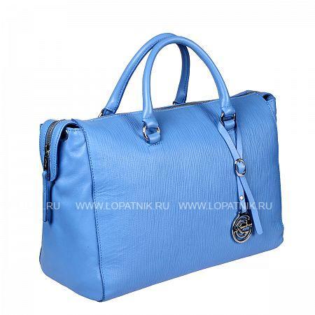 Купить Женская кожаная сумка GIANNI CONTI 1314426 BLUETTE, Синий, Натуральная кожа