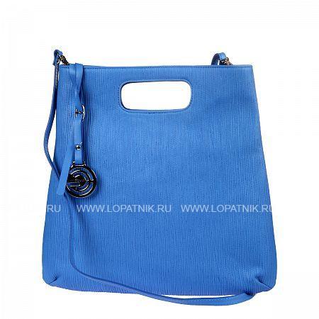 Купить Женская кожаная сумка GIANNI CONTI 1314428 BLUETTE, Синий, Натуральная кожа