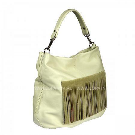 Купить Женская кожаная сумка GIANNI CONTI 1394734 CANARY, Серый, Натуральная кожа