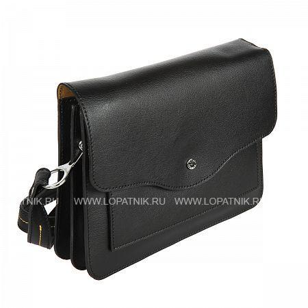 Купить Женская кожаная сумка GIANNI CONTI 2433436 DARK BROWN, Черный, Натуральная кожа