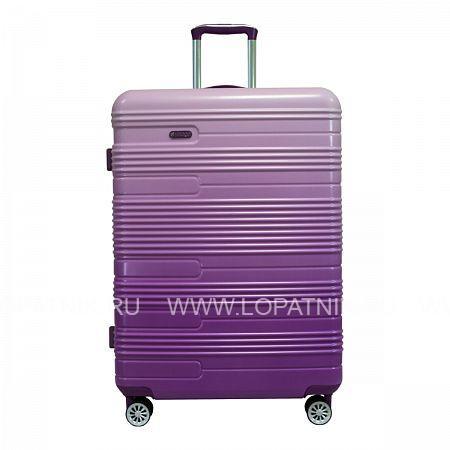 Купить Чемодан на колесах пластиковый VERAGE GM16037W28 PURPLE, Фиолетовый, Пластик