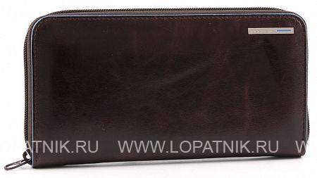 Купить Женское кожаное портмоне PIQUADRO PD1515B2/MO, Коричневый, Натуральная кожа
