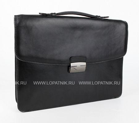 Купить Кожаный мужской портфель TONY PEROTTI 331107/1, Черный, Натуральная кожа